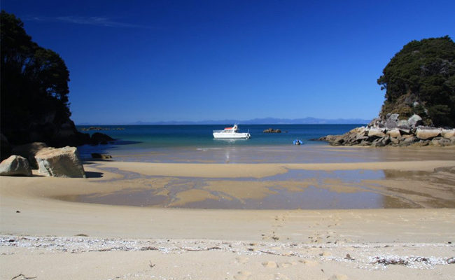 Charter Boat In Able Tasman