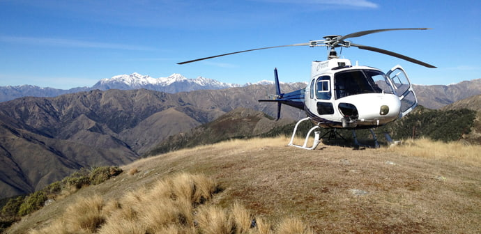 Private helicopter charters @ Reid Helicopters Nelson NZ