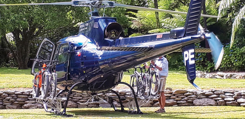 Heli Cycle Tours: Guided Cycle Tour South Island, New Zealand